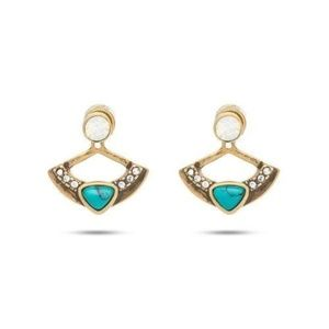 C+I 2-in-1 Capri Convertible Jacket Earrings